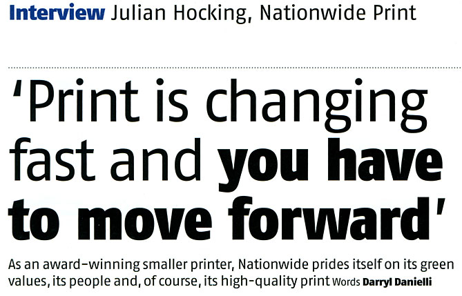 Print is changing